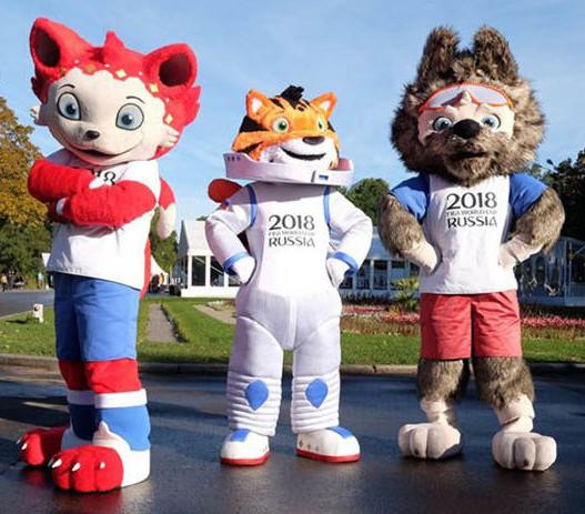 ワールドカップサッカー2018ロシア大会公式マスコットキャラクター候補の3体