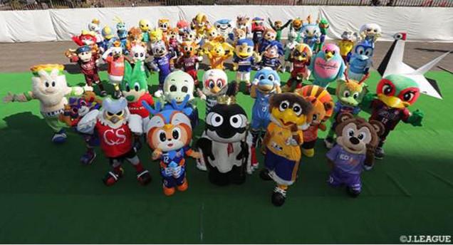 Jリーグマスコット総選挙2019は名古屋グランパスのグランパスくんが1位
