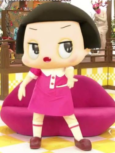 NHK総合テレビ「チコちゃんに叱られる」のチコちゃん