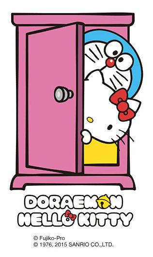 ドラえもんとハローキティのコラボ「DORAEMON × HELLO KITTY」