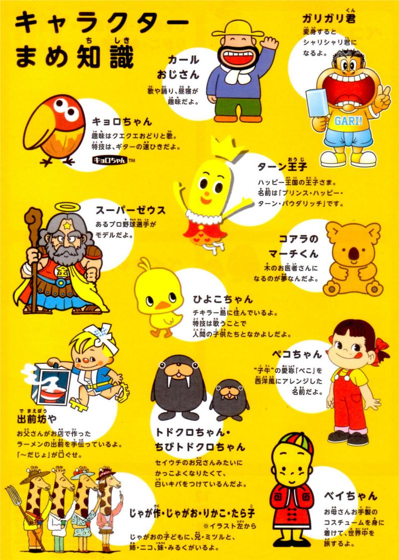 ファミリーマートとサークルK・サンクスのコンビニ店で開催されているキャラクタースタンプラリー