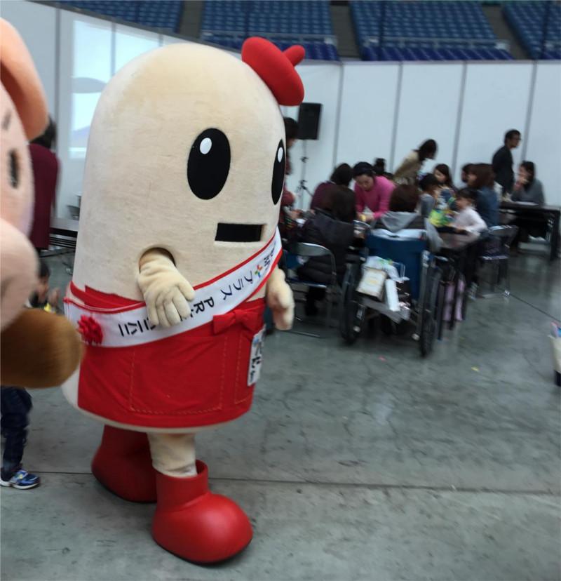 日展東海展のマスコットキャラクター「ハニハニ」