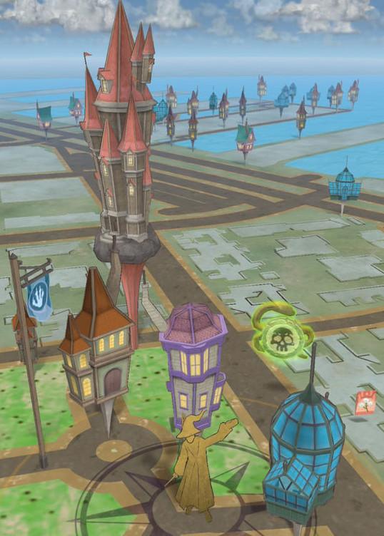 「ハリー・ポッター:魔法同盟」の画面