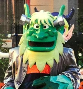 ひらかたパークのマスコットキャラクター「ノームのなかまたち」の「トランプ」