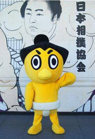 日本相撲協会のキャラクターひよの山