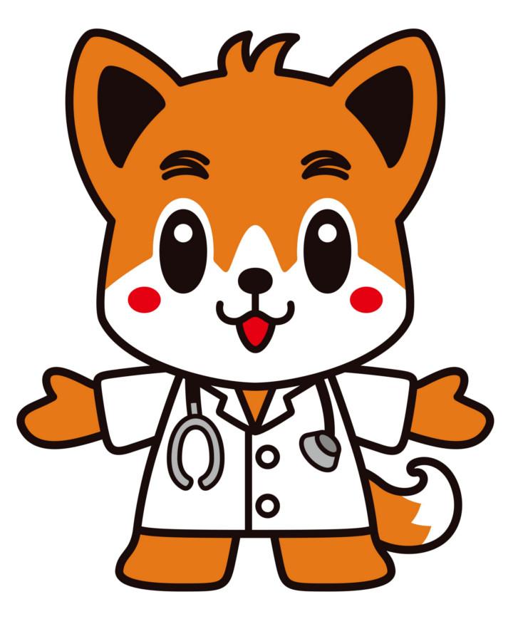 日本医師会のキャラクター「日医君(にちいくん)」