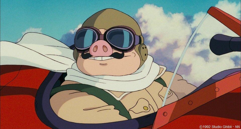 「紅の豚」のポルコ・ロッソ