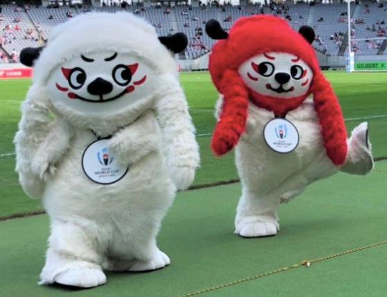 ラグビーワールドカップ2019™日本大会の公式マスコット「レンジー」