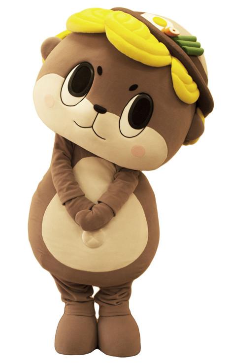 高知県須崎市のマスコットキャラクター「しんじょう君」