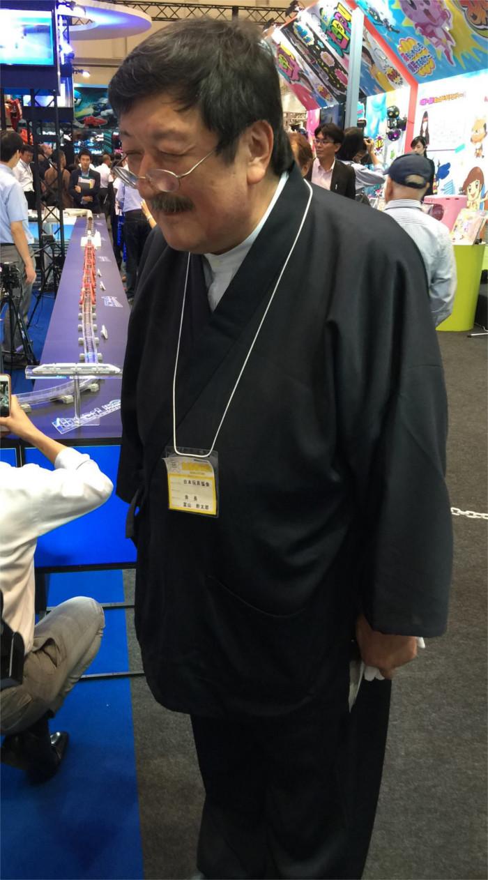 タカラトミーの富山社長